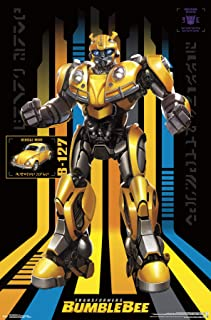 G1 Transformers Autobot Bumblebee /& Spiderman Poster Picture 11x17 Marvel Comics