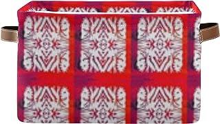 Panier de rangement décoratif Myan Art Sf X Aurorascottagearts - Boîte de rangement cubique avec poignée - Pour ranger des...