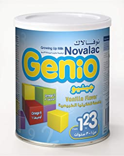 Novolac Genio Growing Up Formula, From 1 To 3 Years, 400 gm