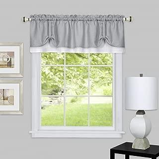 Achim Home Furnishings DRVL14GW12 Darcy Window Curtain Valance, 58