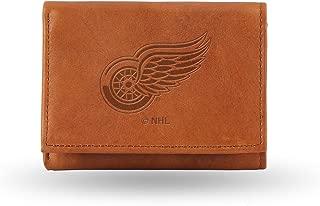 NFL Washington Redskins Embossed Leather Trifold Wallet, Tan