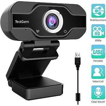 TedGem 1080P Full HD Webcam