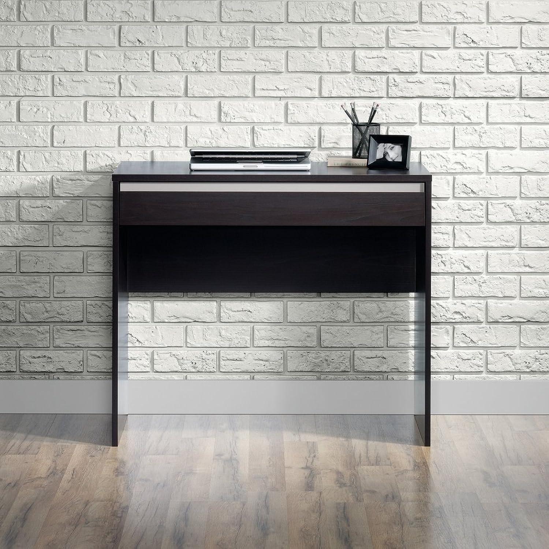 Sauder Square1 Writing Desk in Carbon Ash