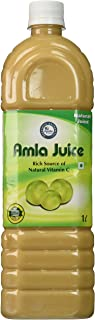 Amla Juice / Indian Gooseberry Juice / Emblica Officinalis 1000 Ml (33.8 Oz) 1 Liter - ★ Rich in Vitamin C - ★ No Artificial Color and Flavour Added - ★ Wild Amla Directly From Naturally Growing Amla of Lower Shivalik Hills of Himalayas - ★ Apollo Pharmacy (No #1 in Indian Pharmacy)