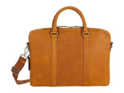 Shinola Detroit Laptop Bag (Honey) Handbags