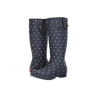 Chooka Dot Blanc Tall Boot (Navy) Women