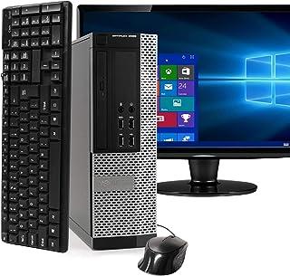 Dell Optiplex 9020 SFF Computer Desktop PC, Intel Core i5 Processor, 16 GB Ram, 2 TB Hard Drive, WiFi, Bluetooth 4.0, DVD-...