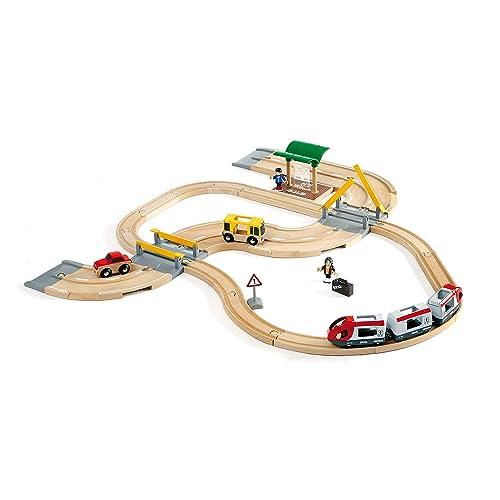BRIO Rail & Road Travel Set