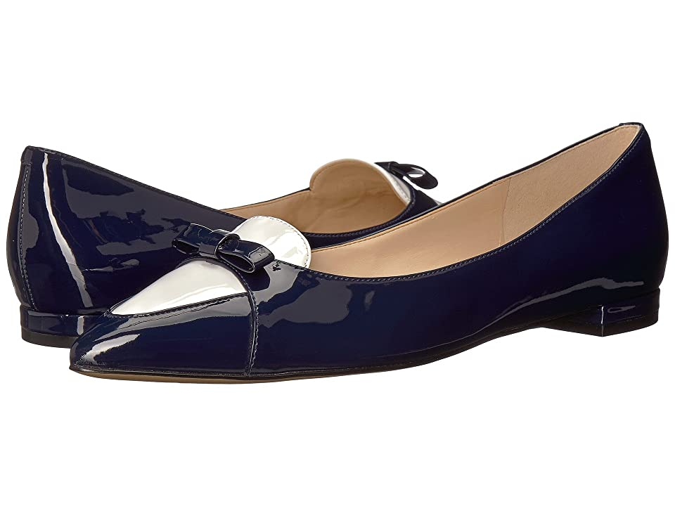 Nine West Anemone (Navy/White Synthetic) Women