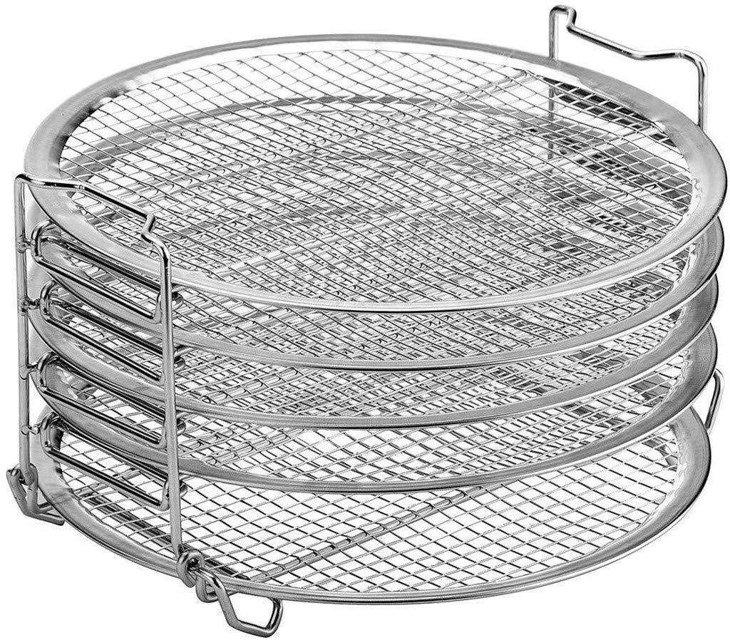 Yusell - Soporte para Accesorios para Parrilla Air Fryer Five Stackable: Amazon.es: Hogar