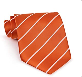 Bows-N-Ties Men's Necktie Pencil Striped Microfiber Satin Tie 3.25 Inches