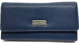 Nautica Money Manager RFID Women's Wallet Clutch Organizer (Sky)