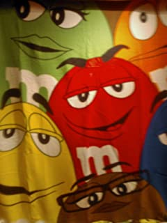 M&M Fleece Blanket with all M&M Characters
