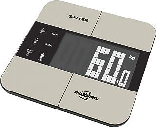 Salter 9124 SS3R - Báscula de baño con memoria 10 usuarios