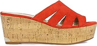 Best red wedge platform sandals Reviews