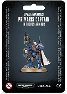 Warhammer 40,000: Space Marines Primaris Captain in Phobos Armour