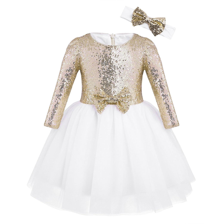 YiZYiF DRESS ガールズ
