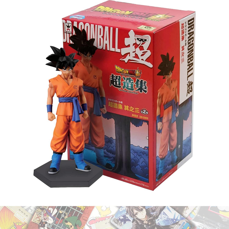 Son Goku: 15cm Factory outlet BanPresto NEW before selling Chozoushu Bundle wit Statue Figurine
