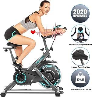 Ancheer Bicicleta de Spinning Bicicleta Indoor de Volante de Inercia de 22kg/18kg Bicicletas deCiclo con Conecto con App ...