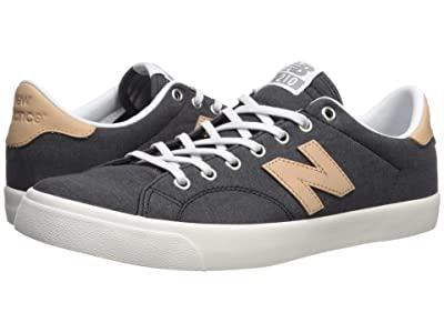 New Balance Numeric AM210 (Black/Tan 1) Men