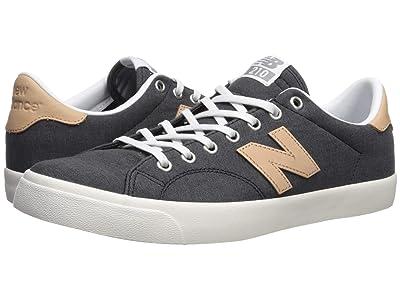 New Balance Numeric AM210 (Black/Tan 1) Skate Shoes