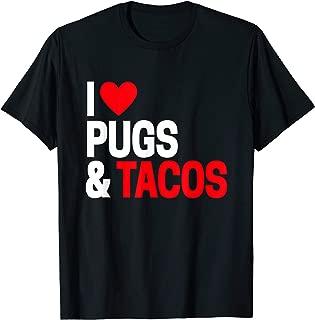 Best i love pugs t shirt Reviews
