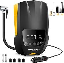 FYLINA - Compresor de aire automático de neumáticos, bomba