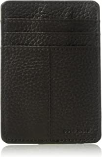 Cole Haan Pebble Leather Wallet with Emb Logo, Money Clip