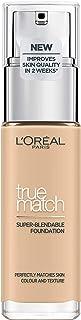 L'Oréal Paris True Match Foundation 1.5.N Linen - L'Oréal Foundation met Hyaluronzuur & Natuurlijke Dekking, met SPF 17 - ...