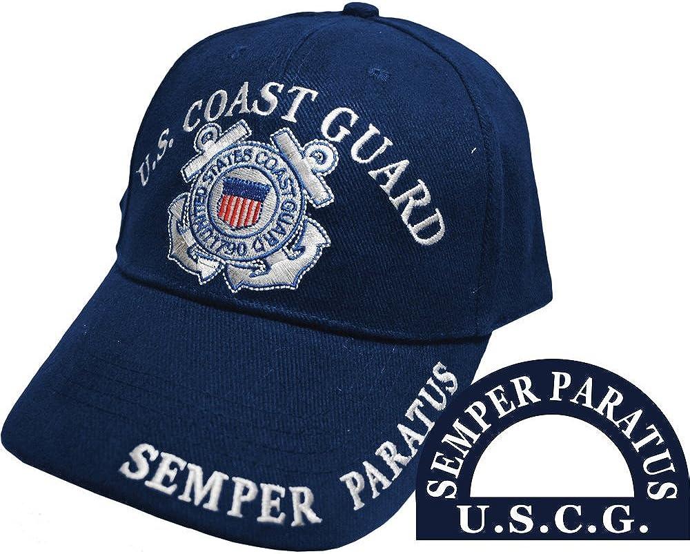 U.S. Coast Guard Semper Paratus Hat Navy Blue