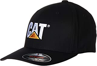 Caterpillar Men's Trademark Stretch-Fit Cap