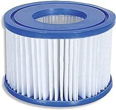 Bestway Plastic SaluSpa Drinks Holder and Snack Tray & Type VI Filters (12 Pack)