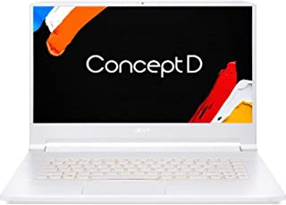 "ConceptD 7 CN715-71-77QK Creator Laptop, Intel i7-9750H, NVIDIA GeForce RTX 2080 – RTX Studio, 15.6"" 4K Ultra HD IPS, 100% Adobe RGB Color Gamut, PANTONE Validated, Delta E<2, 32GB DDR4, 1TB NVMe SSD"