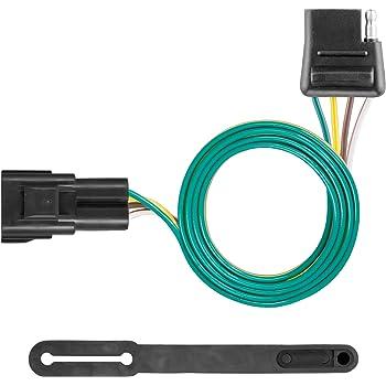 Amazon.com: CURT 56325 Vehicle-Side Custom 4-Pin Trailer Wiring Harness,  Select Chevrolet Blazer, GMC Acadia, Cadillac XT5, XT6: AutomotiveAmazon.com