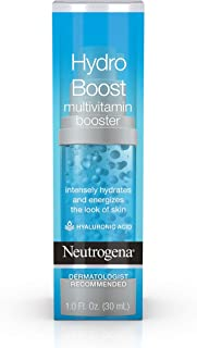 (30ml) - Neutrogena Hydro Boost Multivitamin Hydrating & Revitalising Face Serum with Vitamin E & Hyaluronic Acid for Dry Skin, 30ml