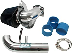 BBK 1718 Cold Air Intake System - Power Plus Series Performance Kit for Ford Mustang 4.6L 2V - Fenderwell Style - Chrome Finish