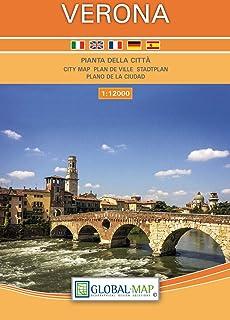 LAC  Pianta della Citta Verona 1:12 000: Stadtplan Verona