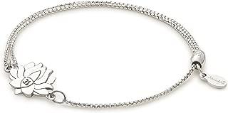 Alex and Ani Women's Precious II Collection Lotus Peace Petals Adjustable Bracelet