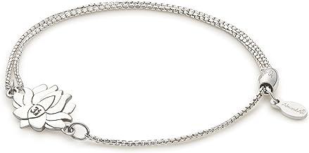 BNQL Macrame Lotus Bracelet Lotus Yoga Bracelet Friendship Zen Jewelry