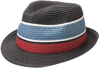 Lipodo Cappello Trilby Colour Block Donna/Uomo - Made in Italy da Sole Estivo Cappelli Spiaggia Primavera/Estate