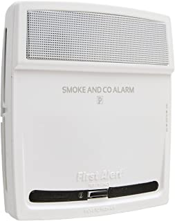 First Alert PC910V 10-Year 2 in 1 Photoelectric Carbon Monoxide Alarm and Smoke Detector with Voice Alert, White