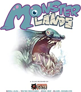 Second Gate Games Monster Lands - A Strategic Dice Placement Game