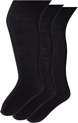 Jefferies Socks Pima Cotton Tights 3-Pack (Infant/Toddler/Little Kid/Big Kid)