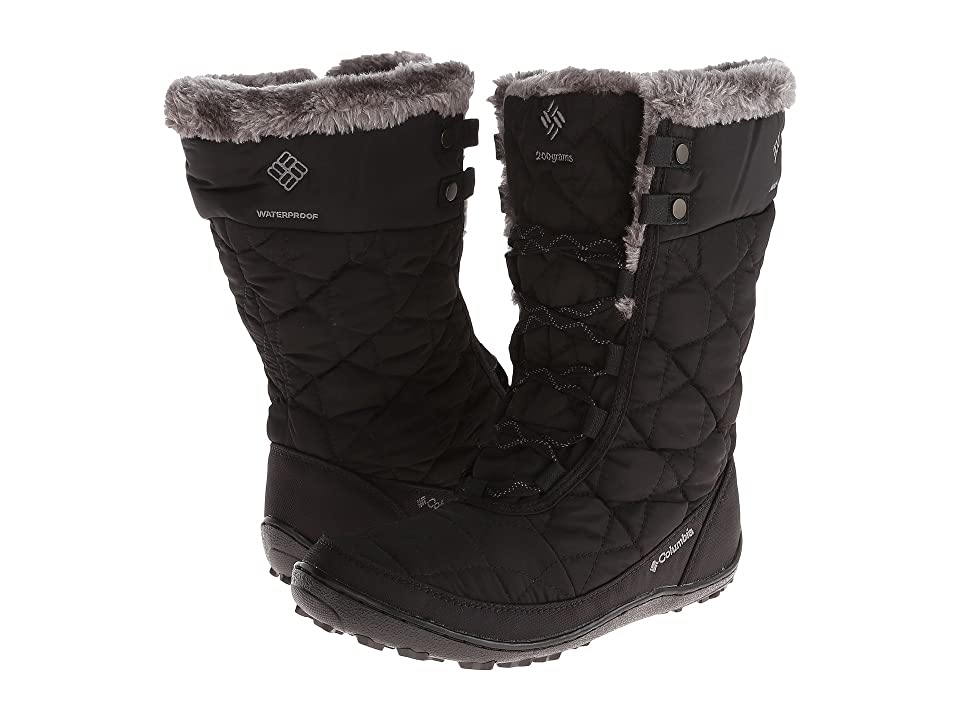 Columbia Minxtm Mid II Omni-Heattm (Black/Charcoal) Women