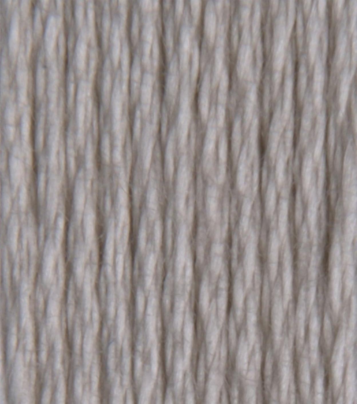 DMC 115 5-822 Pearl Cotton Thread, Light Beige Grey, Size 5
