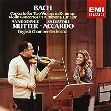 Bach: Concerto for Two Violins in D minor - Violin Concertos in A Minor & E Major