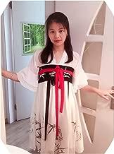 Summer Chinese Ruqun Hanfu Women Lolita Short Sleeve Chiffon Dress Costume Hanfu