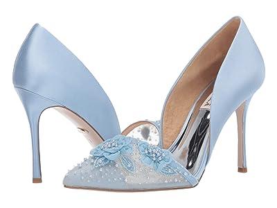 Badgley Mischka Ophelia (Light Blue) High Heels