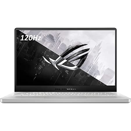 "ASUS ROG Zephyrus G14 14"" VR Ready 120Hz FHD Gaming Laptop,8Core AMD Ryzen 9 4900HS(Beat i7-10750H),16GB RAM,1TB PCIe SSD,Backlight,Wi-Fi 6,USB C,NVIDIA GeForce RTX2060 Max-Q,Win10 (Moonlight White)"