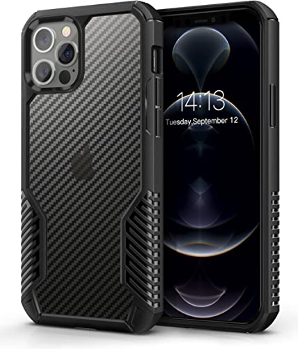 MOBOSI Vanguard Armor Compatible with iPhone 12 Pro Max Case,Rugged Cell Phone Cases,Heavy Duty Military Grade Shockp...